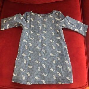 Vineyard Vines Long Sleeve little girls dress